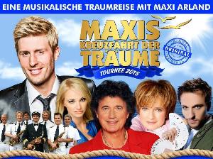 """Zauberer Peter Valance auf der """"Kreuzfahrt der Träume"""" Tounee mit maxi Arland und Olaf dem Flipper"""